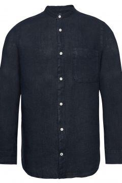 Justin Shirt 5706 Hemd Casual Blau NN07(114154590)