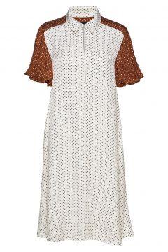 Lennon Dress Kleid Knielang Weiß BIRGITTE HERSKIND(109200414)