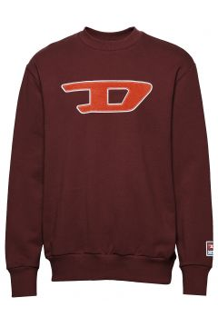 S-Crew-Division-D Sweat-S Sweat-shirt Pullover Rot DIESEL MEN(114153283)