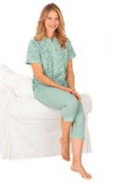 Bomullspyjamas med kort ärm(112297843)