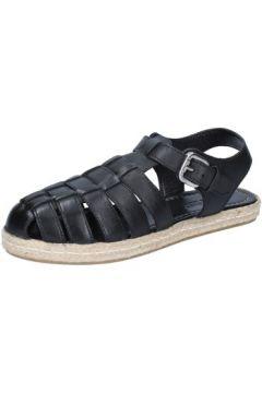 Sandales E...vee E...sandales noir cuir BY186(88522918)