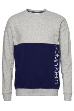 L/S Sweatshirt Sweat-shirt Pullover Blau CALVIN KLEIN(114154809)