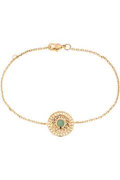 Bracelets Yucatan Bracelet en Plaqué Or et Aventurine Verte Femme(98762514)
