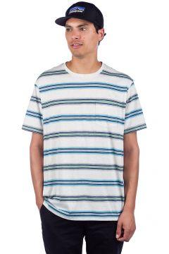 Patagonia Squeaky Clean Pocket T-Shirt tarkine stripe pelican(112247398)