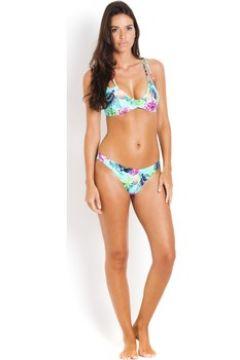 Maillots de bain Pilyq Bas de Bikini Reversible Fleurs reversible Jaune(88599836)