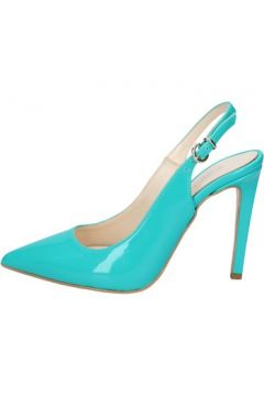 Chaussures escarpins Olga Rubini escarpins vert cuir brillant BS93(115443055)