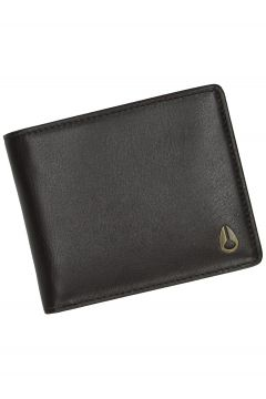 Nixon Pass Leather Coin Wallet bruin(85186216)