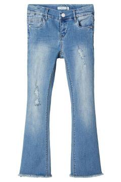 NAME IT 7/8 Bootcut Jeans Dames Blauw(109030392)