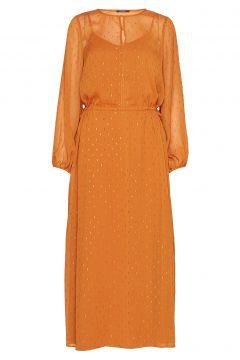 Mariah Gloria Dress Maxikleid Partykleid Orange BRUUNS BAZAAR(114164667)