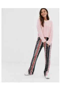 Glamorous - Plissierte Hose mit geschlitztem Saum - Mehrfarbig(94102782)
