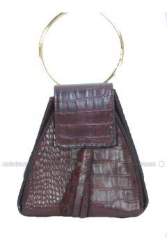 Maroon - Clutch - Bum Bag - Marjin(110338174)