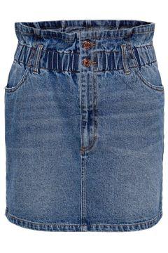 ONLY Paperbag Jupe En Jean Women blue(111131762)