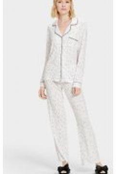 UGG Lenon Set Pyjamas pour Femmes en Cream Stars, taille Moyenne(112238826)