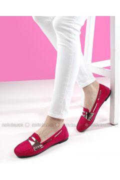 Fuchsia - Flat - Flat Shoes - G.Ö.N(110343098)