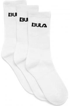 Bula Classic 3pack Sports Socks - White(115307051)