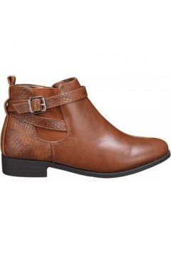 Boots C M Bottines femme bi matiere(101673297)