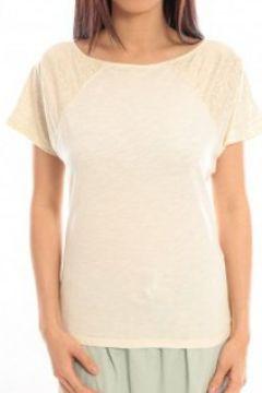 T-shirt Blune T-Shirt Pointilleuse PO-TF02E13 Écru(98751852)
