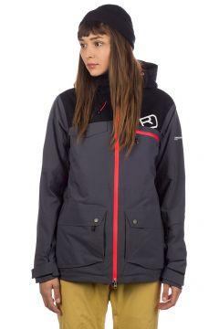 Ortovox 2L Swisswool Andermatt Jacket zwart(85173127)