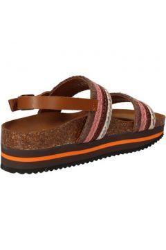 Sandales 5 Pro Ject sandales rose textile marron AC592(88469764)
