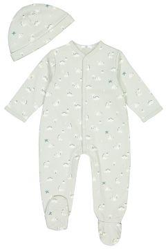 Pijama 1 prenda y gorro de felpa, prematuro-2 años(108523038)