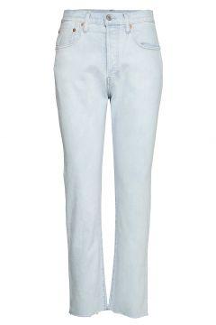 501 Crop Lmc Bleached Sand Straight Jeans Hose Mit Geradem Bein Blau LEVI\'S MADE & CRAFTED(108574207)