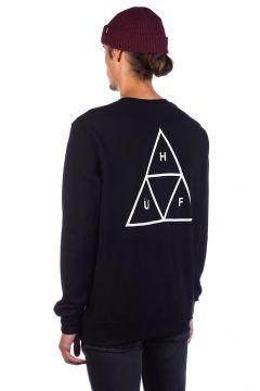 HUF Essentials TT Crew Sweater zwart(108030657)