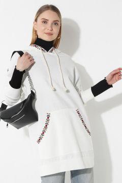 Sweat-shirt Laruj Blanc / Ecru(108581283)