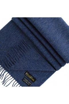 Echarpe Emporio Balzani echarpe laine cachemire bleu(88704893)