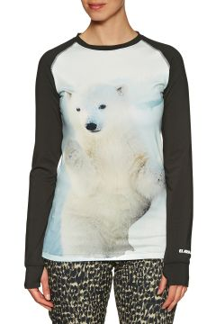 Top Seconde Peau Femme Armada Haven Crew - Polar Cub(111332378)