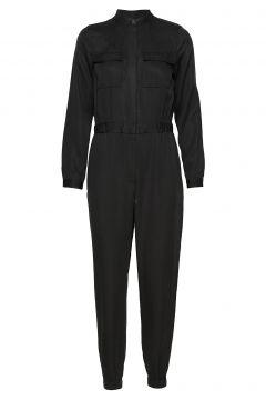 Tencel™ Flight Jumpsuit Jumpsuit Schwarz BANANA REPUBLIC(98378374)