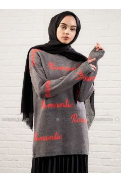 Smoke-coloured - Crew neck -- Tunic - Lysa Studio(110319886)