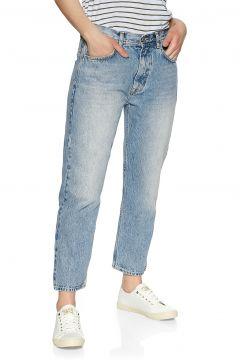Superdry High Rise Straight Damen Jeans - Light Indigo Vintage(110372932)
