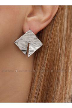 Gray - Earring - Takıştır Bijuteri(110326952)