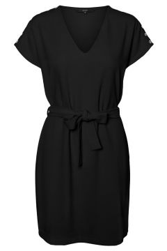 VERO MODA Ceinture À Nouer Mini-robe Women black(116511247)