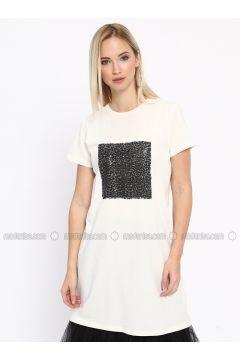 Ecru - T-Shirt - Missemramiss(110330909)