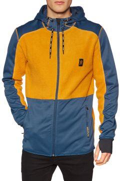 Polaire Bula Fleece Zip Hood - Okra(111320322)