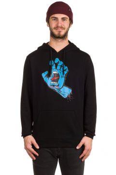 Santa Cruz Screaming Hand Hoodie zwart(96853568)