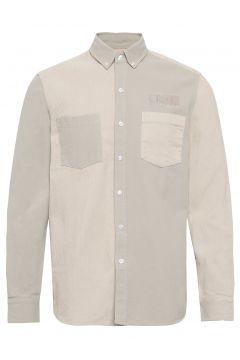 Claw Shirt - Olive Hemd Casual Grau FORÉT(109152079)