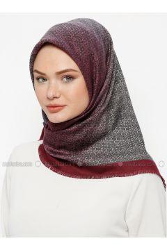 Multi - Printed - Wool Blend - Scarf - Karaca Eşarp(110330120)