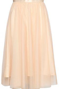 Flawless Skirt Knielanges Kleid Beige IDA SJÖSTEDT(109112742)