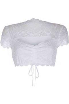 Dirndl-Bluse, kurzarm Nina von C. weiß(111528718)