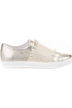 Chaussures Louisa Baskets mode femme - - Dore - 36(115500039)
