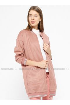 Powder - Unlined - Crew neck - Jacket - İkoll(110319950)