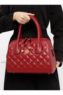 Maroon - Shoulder Bags - Kayra(110317950)