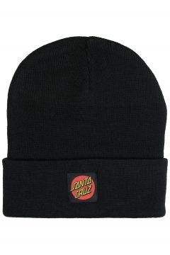 Santa Cruz Classic Label Dot Beanie zwart(116174730)