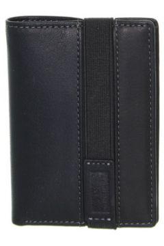 Portefeuille David William Porte-cartes en cuir ref_lhc39317-noir(88453657)