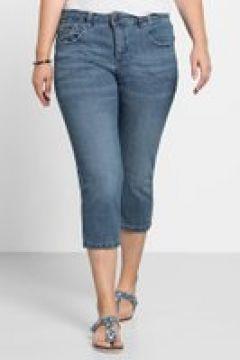 Sheego Capri-Jeans Sheego light blue Denim(111501374)