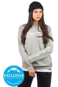 Nikita Mica Crew Sweater grijs(108030414)