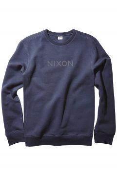Nixon Wordmark Crew Sweater blauw(85182235)