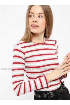 White - Maroon - Cotton - Corset - Meliana(110316585)